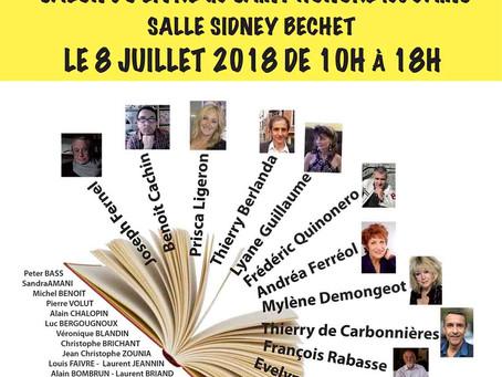 Salon du livre de Saint-Honoré-les-Bains du 8 juillet 2018