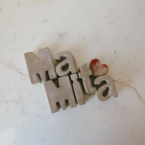 Letras decorativas MaMita