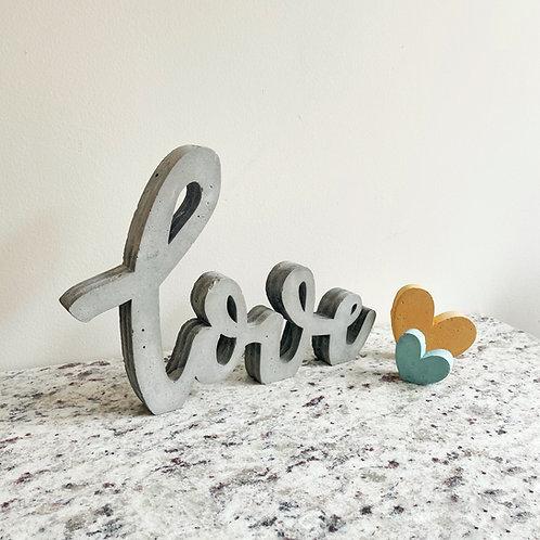 Love decorativo