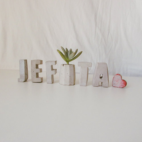 SET DE LETRAS JEFITA