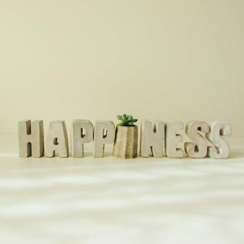 SET DE LETRAS HAPPINESS