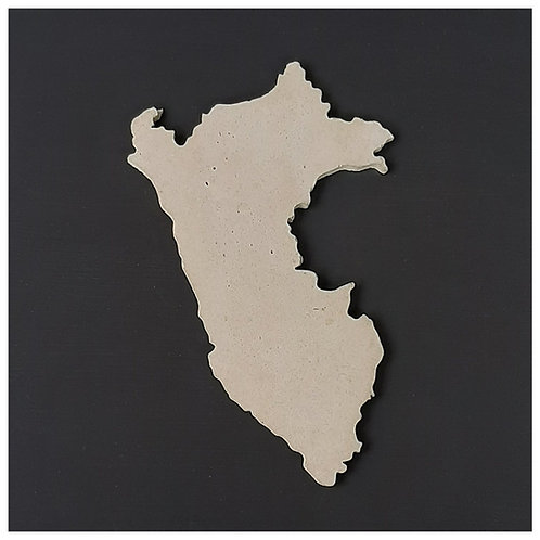 Cuadro mapa Perú
