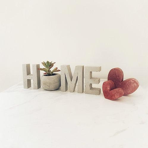 Set de letras HOME 8.5cm
