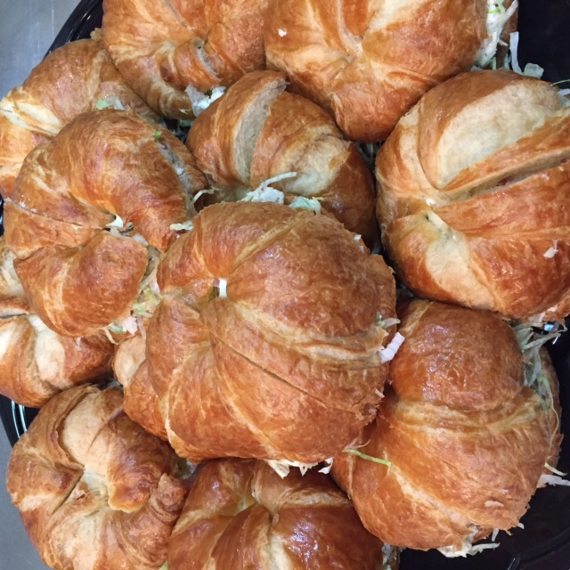 Catering - Chicken Salad on Croissan