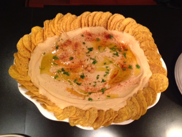 Hummus Tray with Chips