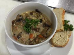 Beef Barley & Mushrooms Soup