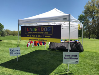 UNDERDOG sighting at The Big Swing 2018