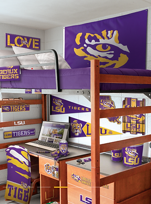 Wincraft NCAA College LSU Fan Decor.png