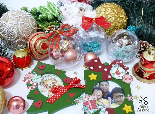 Enfeites para a árvore de Natal by Megui Assano