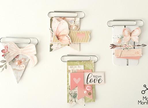 Clipes decorados by Mari Monteiro