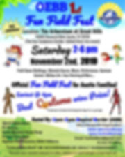 Official Poster for OEBB Fun Field Fest
