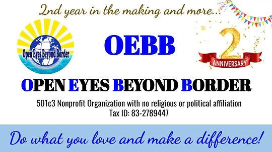 OEBB 2020- 2nd Year Anniversary