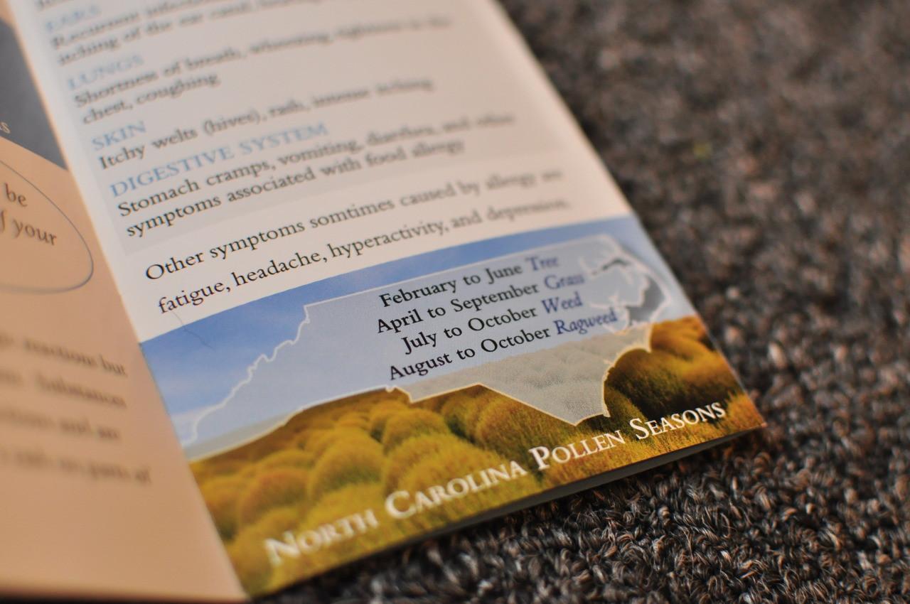 Allergy Brochure 4