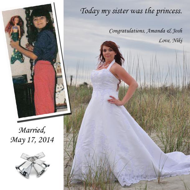 Amanda Barber Wedding Announcement
