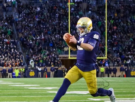 ND Football: East Coast Trippin' #2 ND vs #19 TarHeels