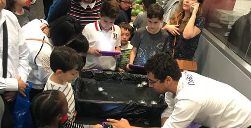 SoLA Robotics Booth - Underwater robotics with Sphero!!