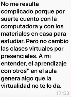 Testimonio: Josefina Gamarra