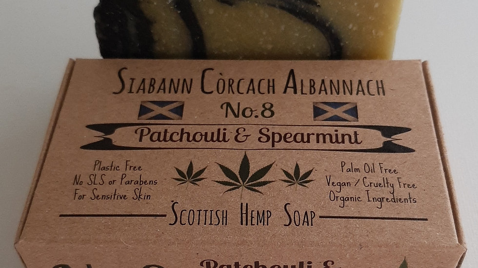 No.8 - Patchouli & Spearmint