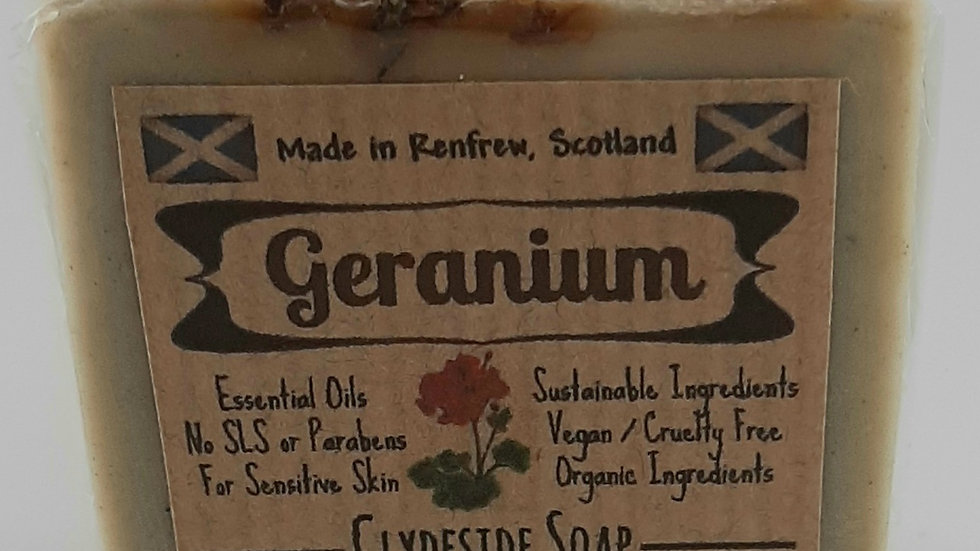 Geranium Square Soap