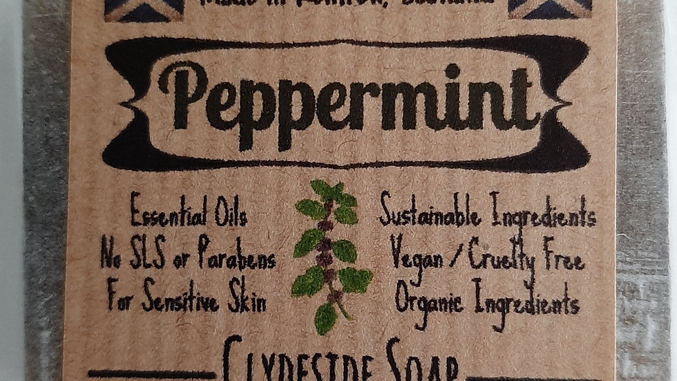 Peppermint Glycerine Soap