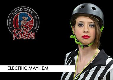 Derby name: Electric Mayhem