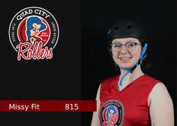 Derby Name: Missy Fit  Derby Number: 815