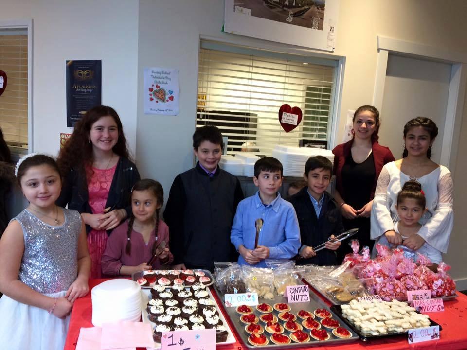Sunday School Bake Sale