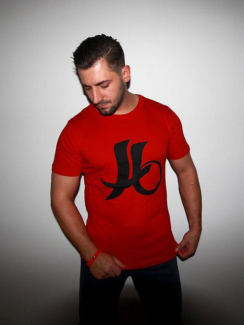 """T-shirt """"logo KBS"""" rouge"""