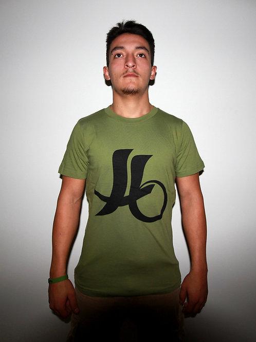"""T-shirt """"logo KBS"""" Vert Kaki (militaire)"""