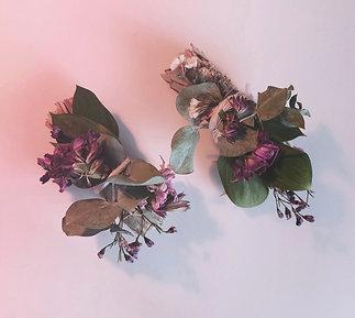 bâton de sauge, d'eucalyptus et de fleurs séchées pour fumigation