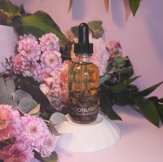 huile précieuse moonlight pour le corps, le visage, les cheveux et le bain