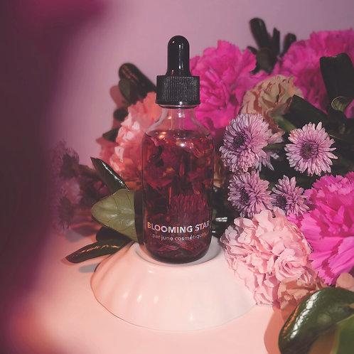 huile botanique blooming star : sérum visage concentré de vitamine c