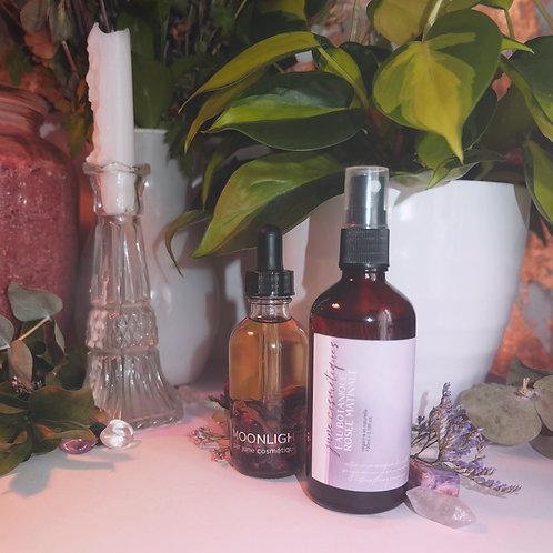 eau botanique rosée matinale : eau florale de fleurs sauvages et tonique