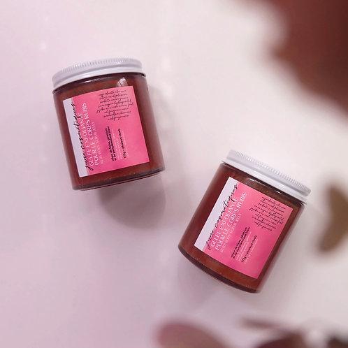 gelée exfoliante pour le corps rubis concentrée en vitamine c naturelle