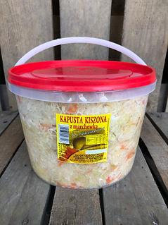 Kapusta Kiszona Wiaderko 5Kg
