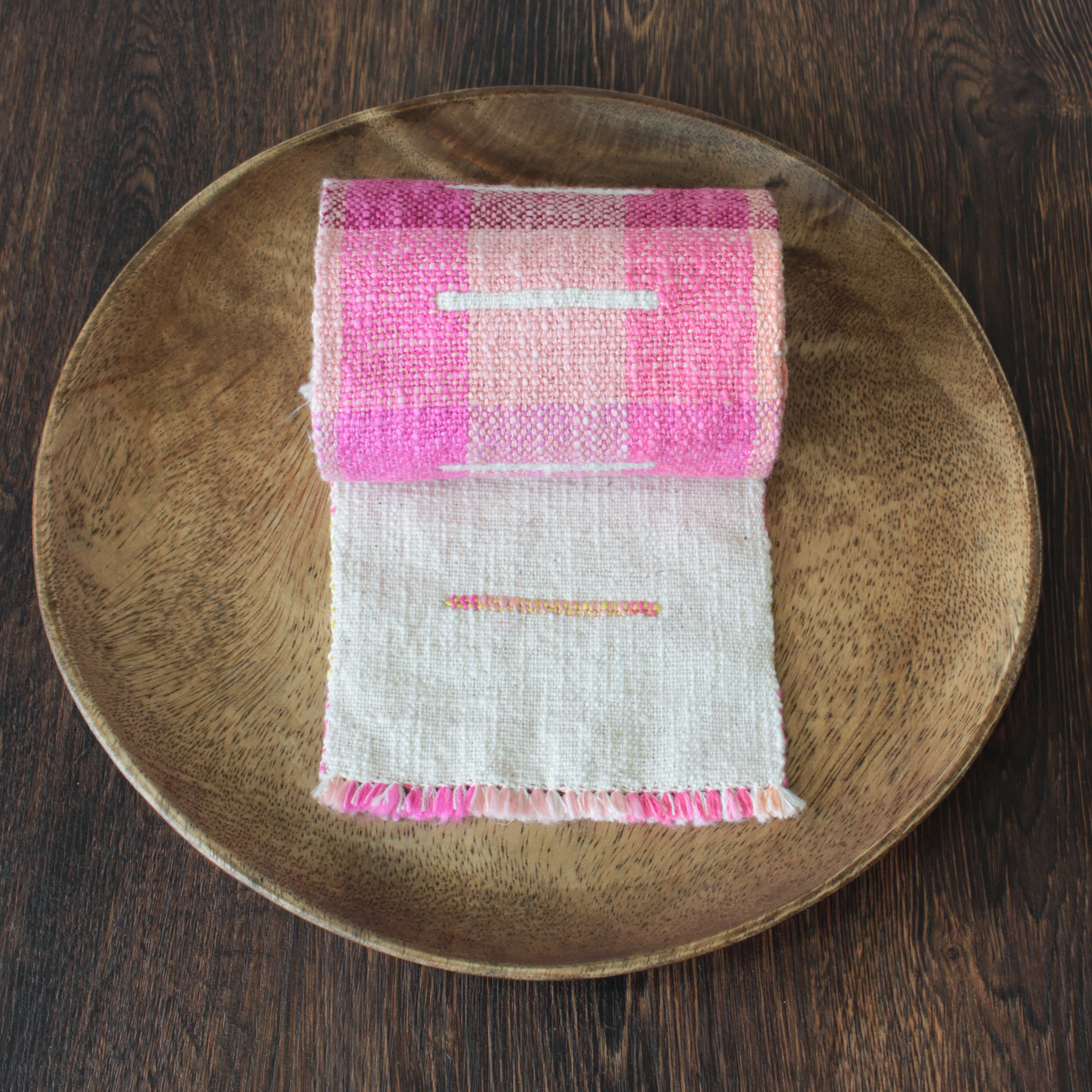 "Table runner ""stege"""