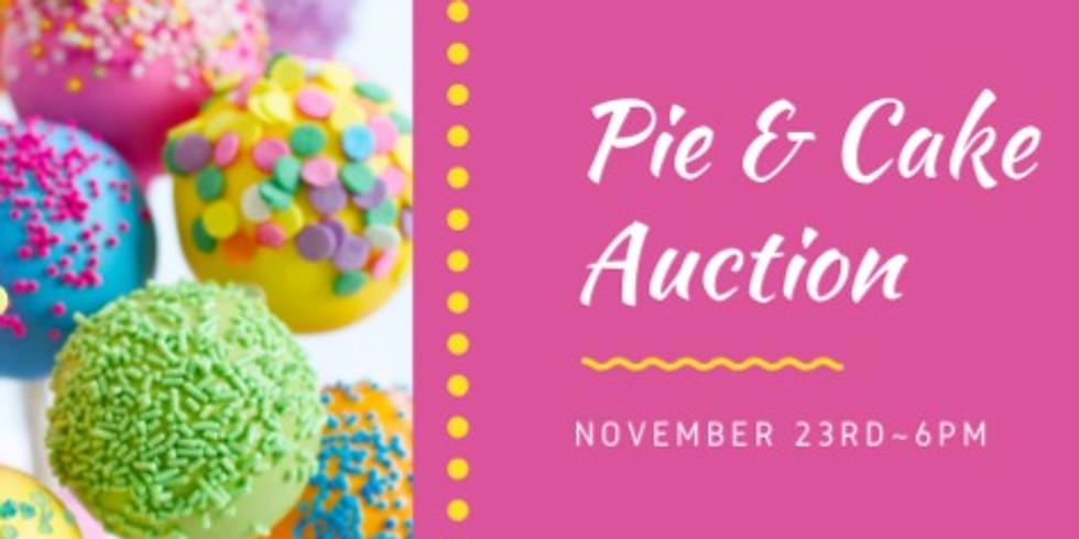 Pie & Cake Auction