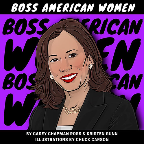 "Hardcover Book, Boss American Women (8"" square)"