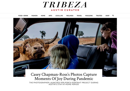 Tribeza: Casey Chapman Ross's Photos Capture Moments of Joy During Pandemic