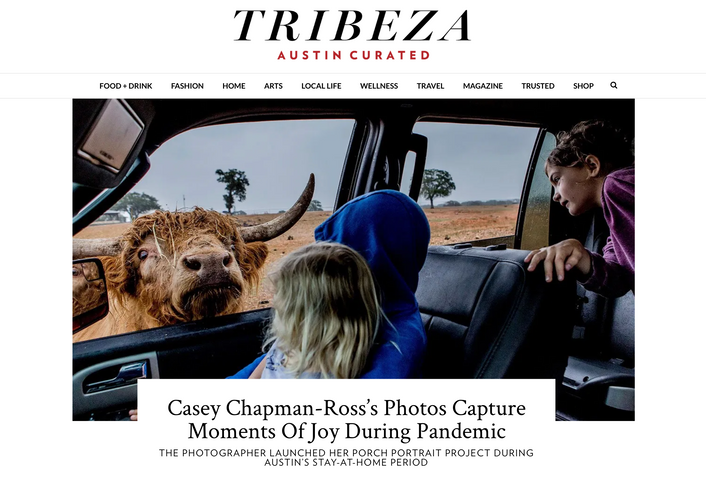 Tribeza: Casey Chapman Ross's Photos Capture Moments of Joy During Pandemic