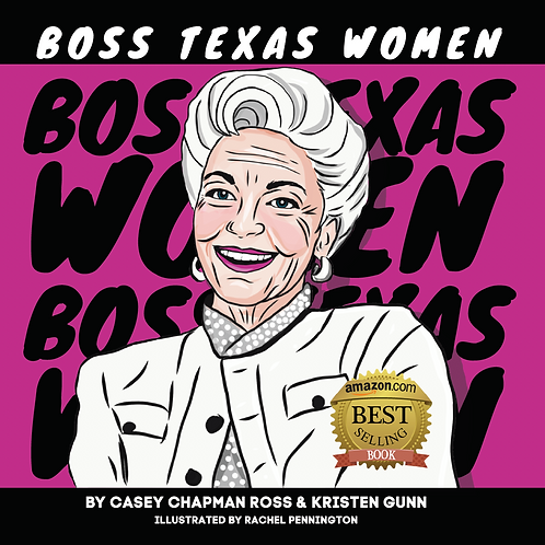"Hardcover Book, Boss Texas Women (8"" square)"