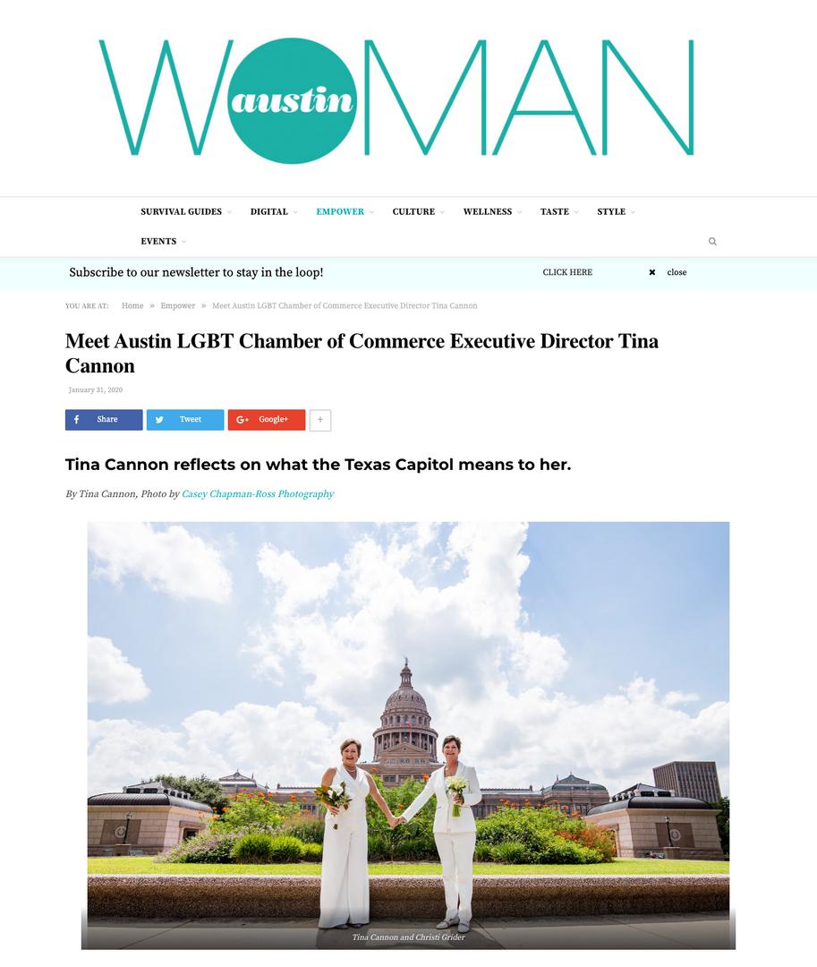 Photo for Austin Woman Magazine