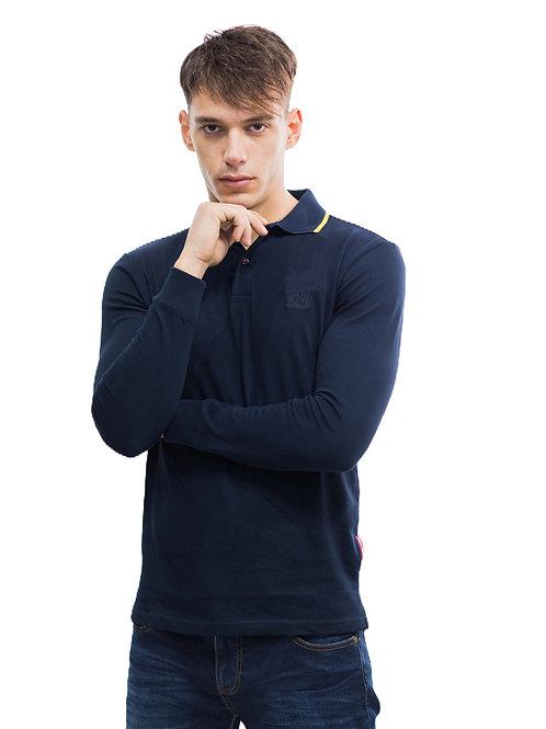 Americanino Men's Long Sleeve Polo Shirt
