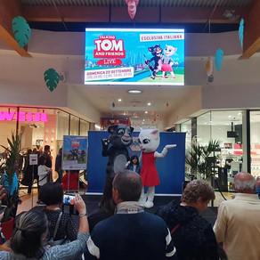 Talking Tom continua il suo tour...
