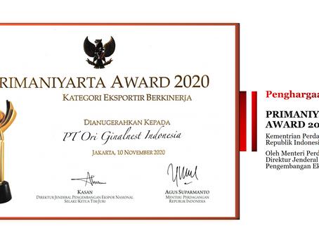 Kemendag Umumkan 19 Pemenang Penghargaan Primaniyarta 2020