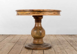 Tavolo VENEZIA in legno di recupero | 100xh80 cm