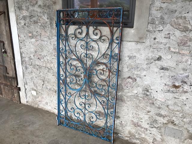 cancello in ferro cm.93x175h