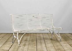 Panchina PORTOFINO in ferro anticato | 148x62xh83 cm