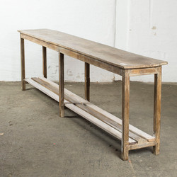 console legno grezzo_h76x260x39