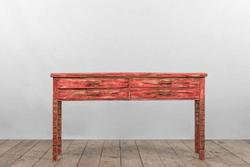Console ANCONA in legno dipinto a mano | 175x45xh90 cm